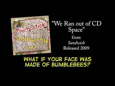 We Ran out of CD Space + LYRICS [Official] by PSYCHOSTICK