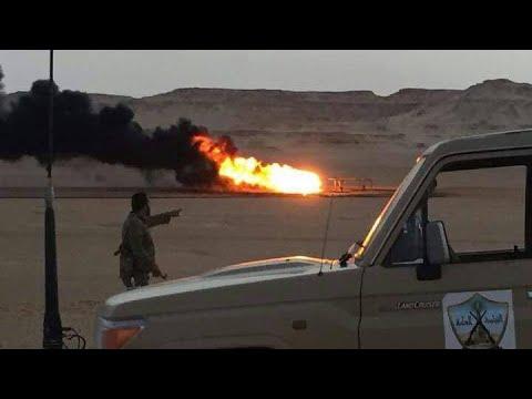 جماعة إرهابية تهاجم خط أنابيب لشركة الواحة للنفط في ليبيا  - نشر قبل 4 ساعة