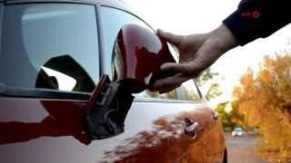 Peugeot 207 & 308 - How to remove complete mirror and refitting