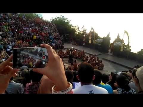 Live Traditional Dance for Tourists at Bali, Indonesia