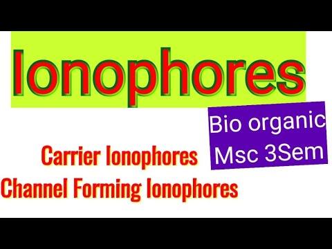 Ionophores (Bio organic)