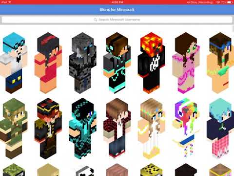 how to get free minecraft skins