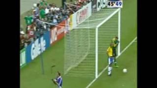 1998 FIFA World Cup Final: France-Brazil(FRANCE 98 FRANCE 3 - BRAZIL 0 goals: Zidane 27' Zidane 45' Petit 90', 2009-02-28T05:44:09.000Z)
