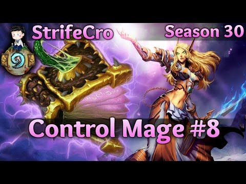 Hearthstone Control Mage S30 #8: Controlled into Submission