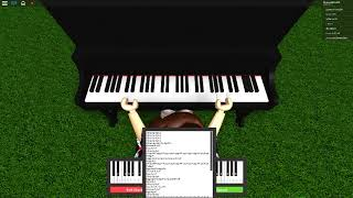 roblox piano | Seven years old|