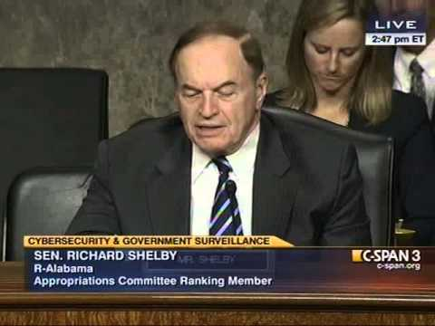 Richard Shelby questions Patrick Gallagher