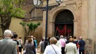 Misa Pio X. Corpus Christi 2012. La Puebla de Castro
