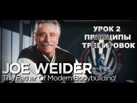 Джо Вейдер - Урок 2 Группа тренировок Система строения тела Принципы тренировок