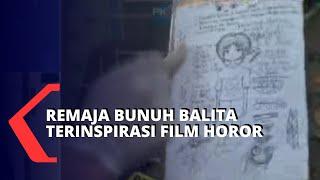 Terinspirasi Film Horor, Remaja Ini Bunuh Balita