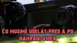 Co musíme udělat před a po nahrání videa ► Gamekeepers_cz