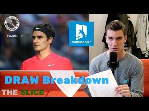 DRAW REACTION: FED IS FAVORITE @ Australian Open 2018 | THE SLICE