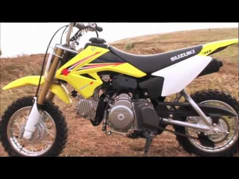 Mxtv Mini Dirt Bikes Review Suzuki Dr Z 70 Youtube