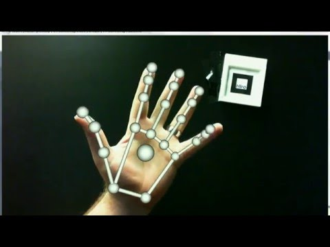 Calibration and Interaction in Optical See-Through Augmented Reality using Leap Motion