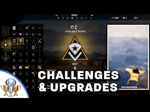 Far Cry 5 - Complete Challenges and Upgrade Perks Lists