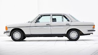 1978 Mercedes-Benz 280 E w123 with m110 engine