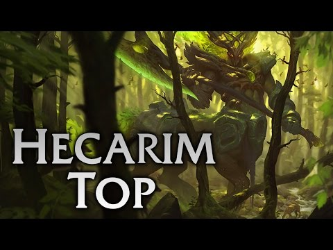 Elderwood Hecarim Top - Full Game Commentary