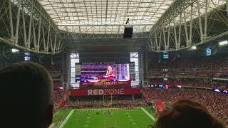 アリゾナ・カージナルス選手入場シーン20171203 NFL