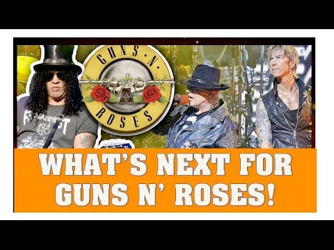 Guns N' Roses News : Rumoured Europe Tour Dates & New Album!