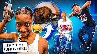 JAY CUT FUNNYMIKE HAIR & JIGGA GOT THE ULTIMATE PUNISHMENT!