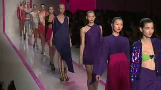 Emanuel Ungaro - Spring Summer 2010 Paris Fashion Week Runway show Estrella Archs