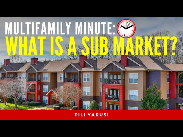 What is a Sub Market?