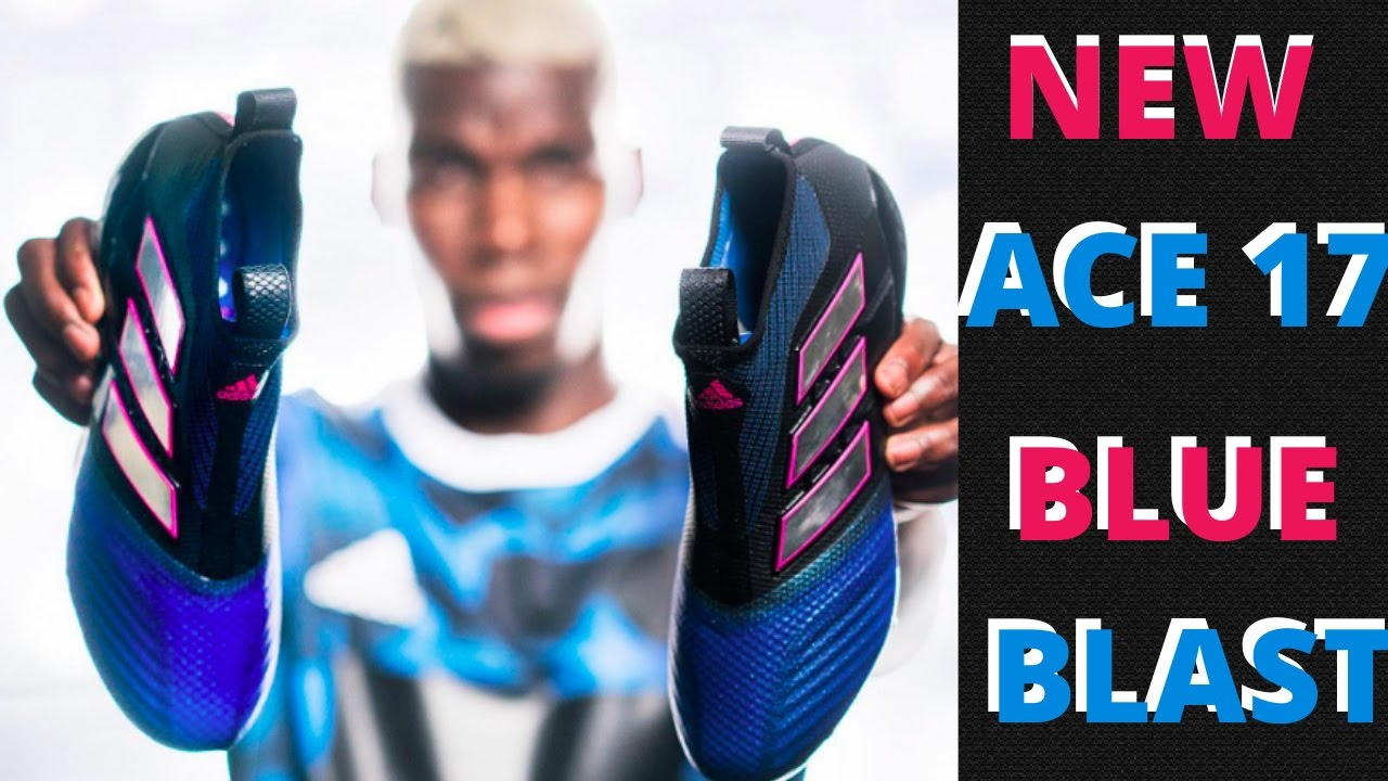 fda71529dd62a Adidas ACE 17+ Purecontrol Blue Blast Pack - YouTube