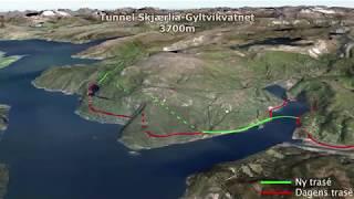 Ny vei gjennom Sørfold