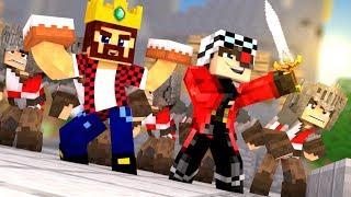 КЕЙК ВАРС НА 60 ЧЕЛОВЕК!!! АИД И ДЕМАСТЕР В ЖЕСТКИХ ТОРТИКОВЫХ БИТВАХ! Minecraft Cake Wars