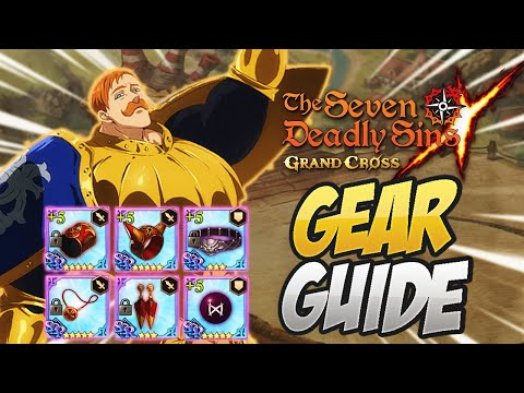 Complete GEAR GUIDE! Everything You NEED To Know! Seven Deadly Sins Grand Cross