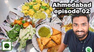 Gujarati Farsan in Ahmedabad with Veggiepaaji | Indian Street Food | Ep 02