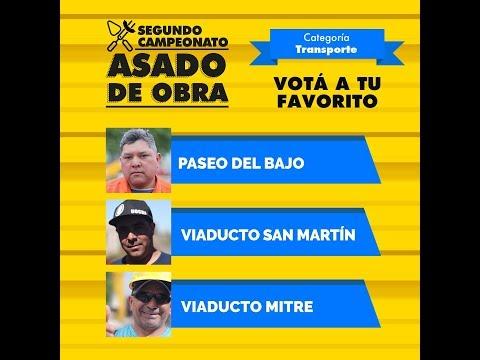 """<h3 class=""""list-group-item-title"""">2do Campeonato Asado de Obra - Equipos Paseo del Bajo, Viaducto San Martín y Viaducto Mitre</h3>"""
