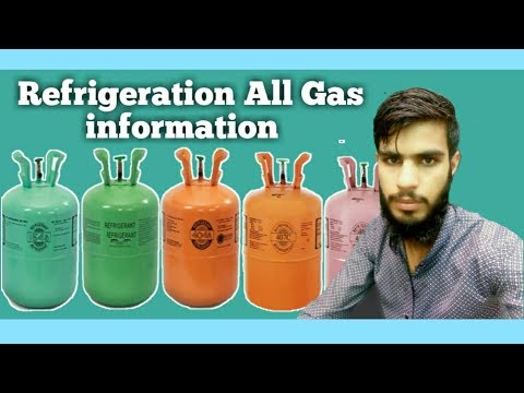 Refrigeration All Gas information and Effect |Fully4world