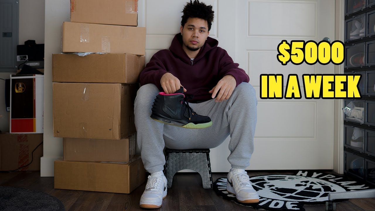 How I Made $5000 Selling Sneakers On eBay In a Week!