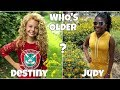 Who is Older ? Disney Channel Famous Girls Stars 2019