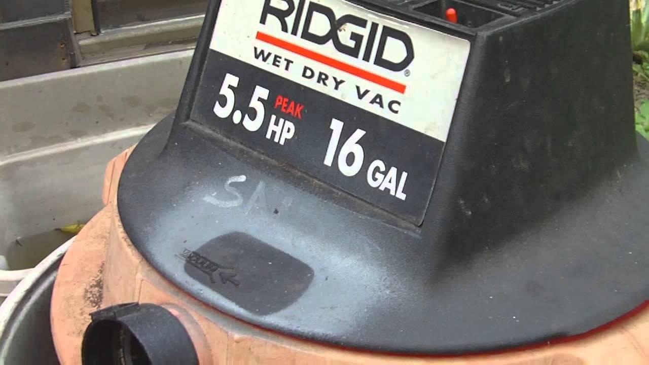 how to fix a dead shop wet dry vac [ 1280 x 720 Pixel ]