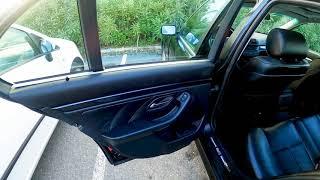 Interior traseiro BMW