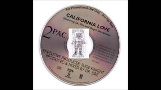 2Pac & Dr. Dre - California Love OG Remix Instrumental 1995 California Los Angeles Bay Rare Promo