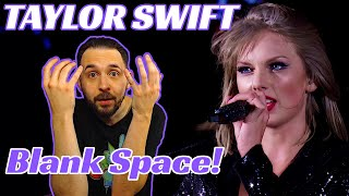 Taylor swift live reaction! blank space 1989 tour!