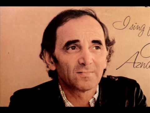 Charles Aznavour (In English) YOU, with lyrics below