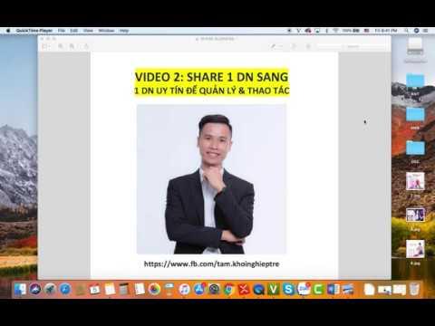 SERIES SỞ HỮU HÀNG NGHÌN TK ADS  – Video 2: Cách share quyền đối tác cho Business uy tín lên Camp