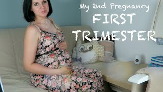 My 2nd Pregnancy: First Trimester - hyperemesis gravidarum, weight loss and dealing with a toddler