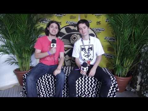 Interview: DJ Walden at Future Music Festival Brisbane (2014)