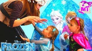 Холодное Сердце  ЭЛЬЗА заколдована Анна спасает Эльзу История про принцесс от MagicTwins
