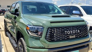 2020 Toyota Tundra TRD PRO/ Army Green/ dashboard