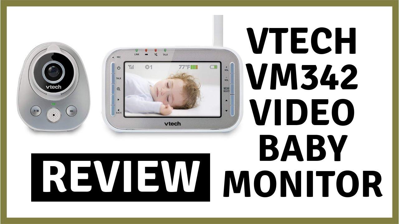 a731c4a8f0da4 VTech VM342 Video Baby Monitor - Review - YouTube