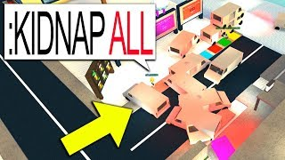 I HAD TO KIDNAP EVERYONE IN ROBLOX!! (Admin Commands)