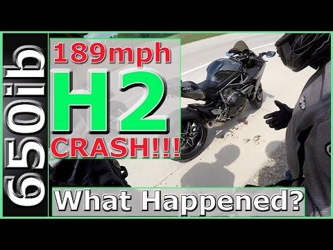 Ninja H2 vs Turbo HayaBusa   SMACKDOWN!!!