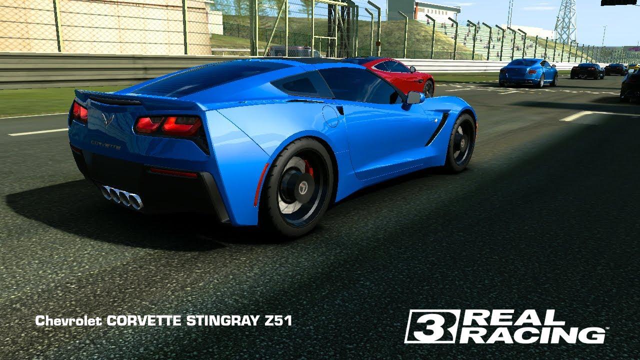 Real Racing 3 — Chevrolet Corvette Stingray Z51 / TopSpeed @ 308 km ...