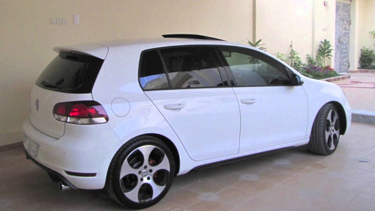 vw golf 6 gti white images galleries with a bite. Black Bedroom Furniture Sets. Home Design Ideas