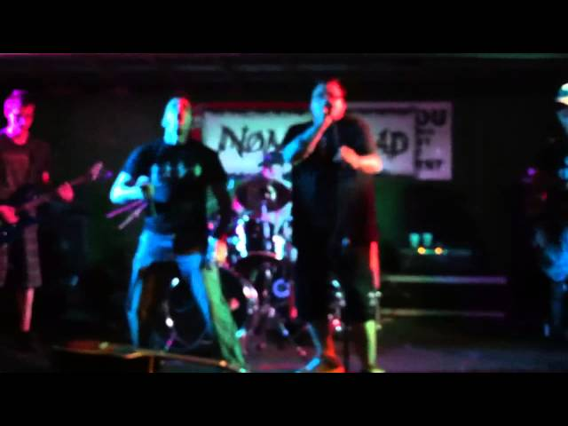 No Man Road- Crimson Way (featuring Jef Collier of Without Regret) Live @ Devaney's 8/23/2013